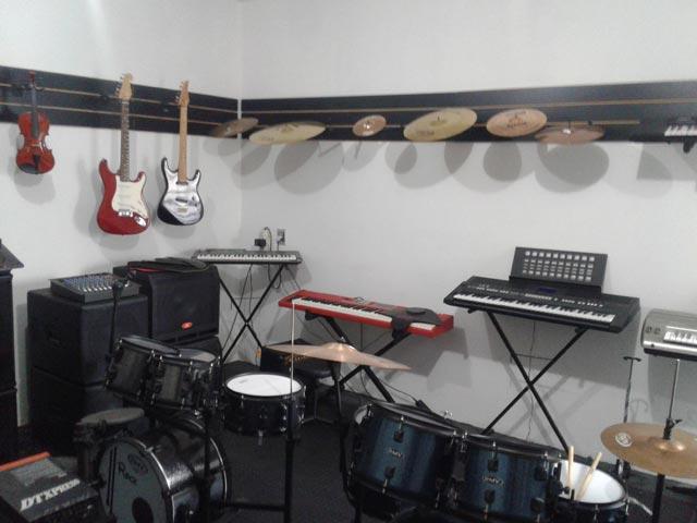 Manutenção de instrumentos musicais