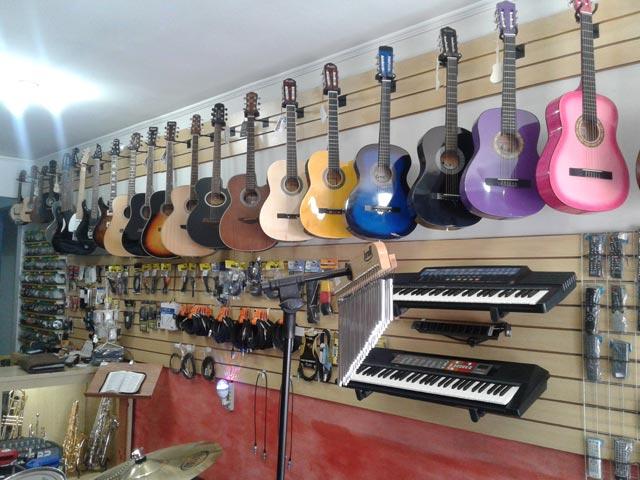 Loja de instrumentos musicais em Limeira